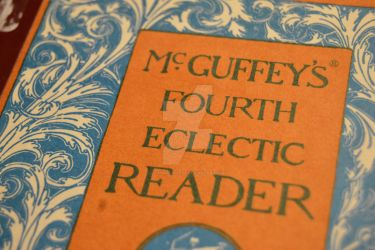 Got an old McGuffey's Eclectic Reader Yesterday by iThinkApple96