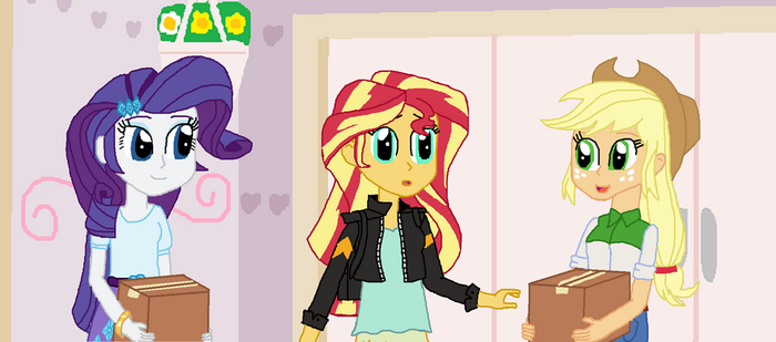 Sunset is Surprised by ThomasZoey3000