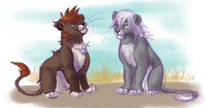 Fluffbutts by RileyKitty