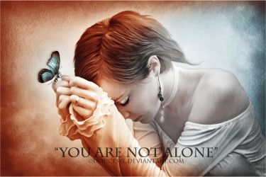 You are not alone by Doucesse