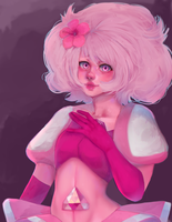 Pink Diamond + speedpaint by hatsukibambi
