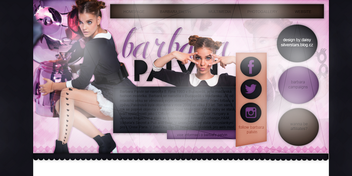 Free premade ft.barbara palvin by silverstars-graphic
