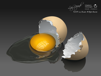 Broken Egg by luizrezende