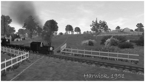 Harwick Farm Crossing by wildnorwester