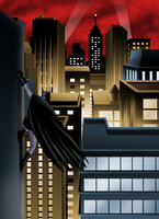 Welcome to Gotham by hermit-homeboy