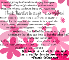 Feminist Quotes by marytracy9