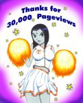 Raven Cheers for 30,000 hits by ZiemosPendric