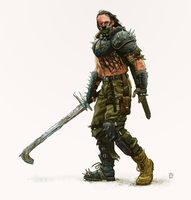 The Hound - Game of Thrones in a Mad Max World by andrewdoma