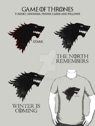 Game of Thrones t-shirt / phone case by Fenx07