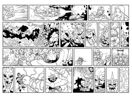 2 pages, lots of panels by RyanOttley