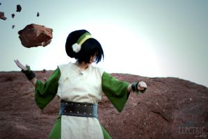 Toph Rocks by WhatTheFuu