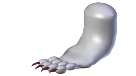 Felicia: Catwoman Form (Foot) (W.I.P.) #4 by Blood-PawWerewolf