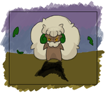 Something wrong w. Whimsicott by Energyzed