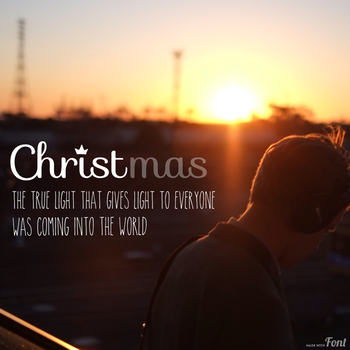 #8 What Christmas is actually about. by senkei