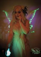Light Up Green Fairy Wings 4 by FaeryAzarelle