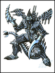 Commission - CUSTOMIZED GIGAN by AlmightyRayzilla