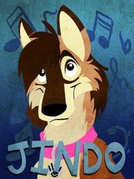 Jindo badge by julianwilbury