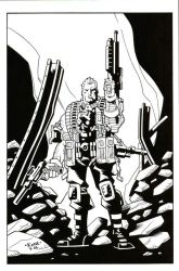 Cable Inked by Kane79