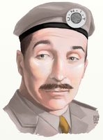 Nicholas Courtney as The Brigadier by The-Tinidril