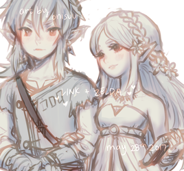 WIP -- let's walk together by onisuu