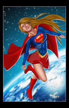 Super Girl Color by LLMachine