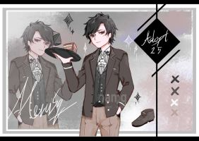 Sb1$ Open Gothic Butler Adopt Auction #25 by namqshop