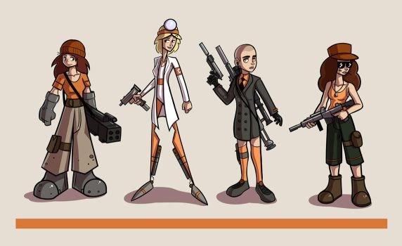 Character Design Project by reigneous