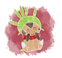 cozy chespin by Tannermema