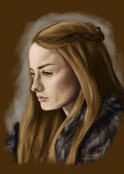 Sansa Stark - Game of Thrones by martianpictures