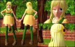 MMD MOTME : Plants Vs Zombies Human!Sunflower by VoiceFromFuture