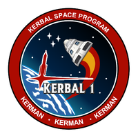 Kerbal-I Mission Patch Logo by jeffmcdowalldesign