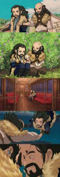 Be with you-Dworin cross Spirited Away by innocence777