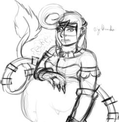 The vore goddess F/? soft vore {WIP} by BigClaudia