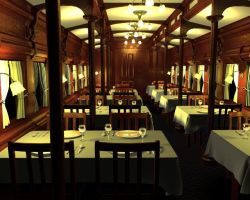 2008: Dining Car by carakav