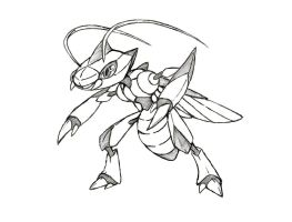 Project Fakemon: Genesect (Natural Forme)