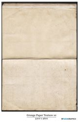 Old Grunger Paper Texture 10 by fudgegraphics