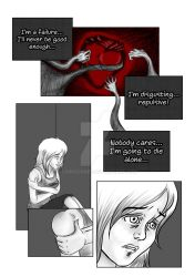 From within the darkness page 3 by crimsondee