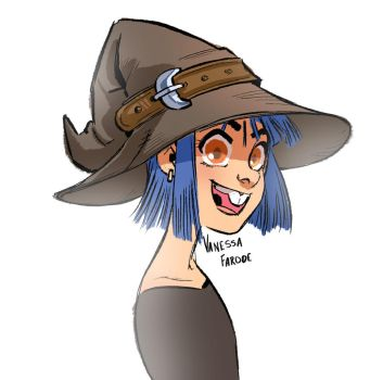 Original Art: Toothy Witch by VanessaFardoe