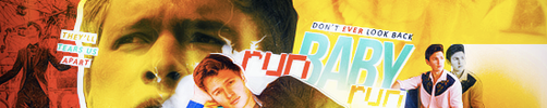 Run Baby Run Banner by herrondale