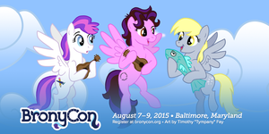 BronyCon 2015: Amy Keating Rogers by Tim-Kangaroo