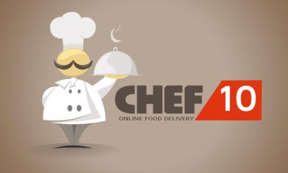 Logo Design - Chef10 by mediamaster