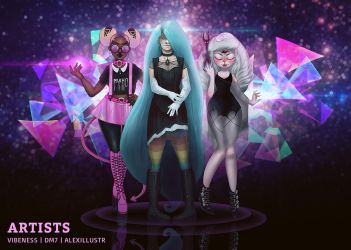 Pastel Goth Magic by DM7