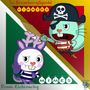 Mimes and Pirates: Secret Santa Edition by Fluffy-Marshall