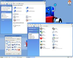 crystalMX -596 icons for WinXP by mavis