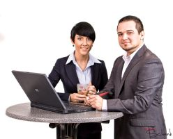 Business Couple by kschenk