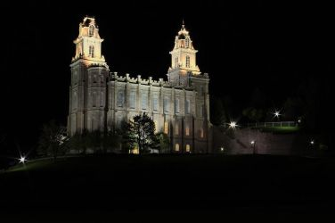 Manti Temple by Ericseye
