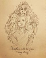 Everything will be fine. Stay Strong by JustEka