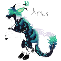Aries // CS Commission by monochromelives