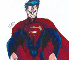 Superman (Injustice) by MikeES