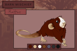 TRP | Rattus | Barnyard Brute by MissAlmighty